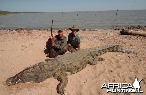 Tanzania Rukwa Crocodile