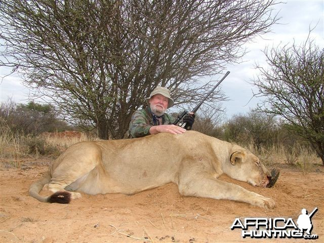 Ira lioness 2010. charged and was dropped @ 14 yards