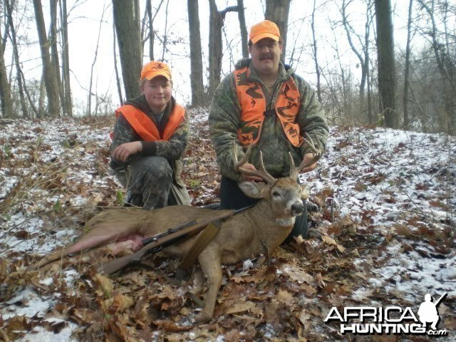 Monster 8 point buck taken with a Husqvarna .30-06