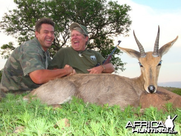 Mountain Reedbok hunted with Leeukop Safaris in South Africa