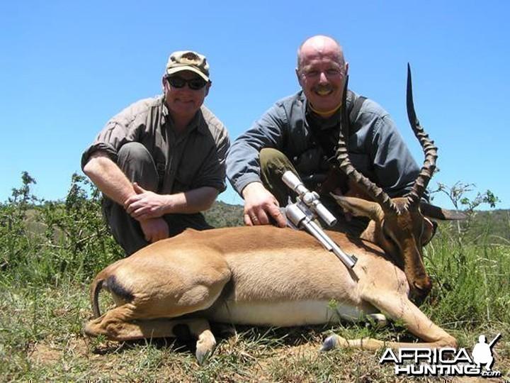 Handgun Hunting Impala