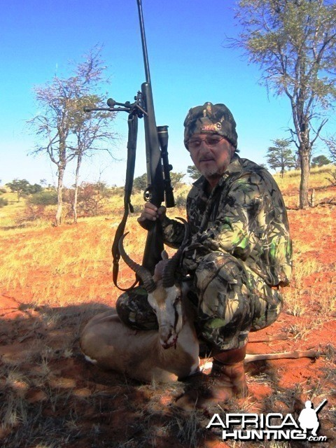 1 st Springbuck (hunt 2010) Gochas District