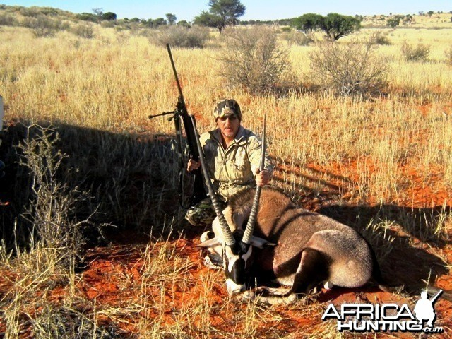 1 st Oryx - July '10 Hunt - Gochas District - Namibia