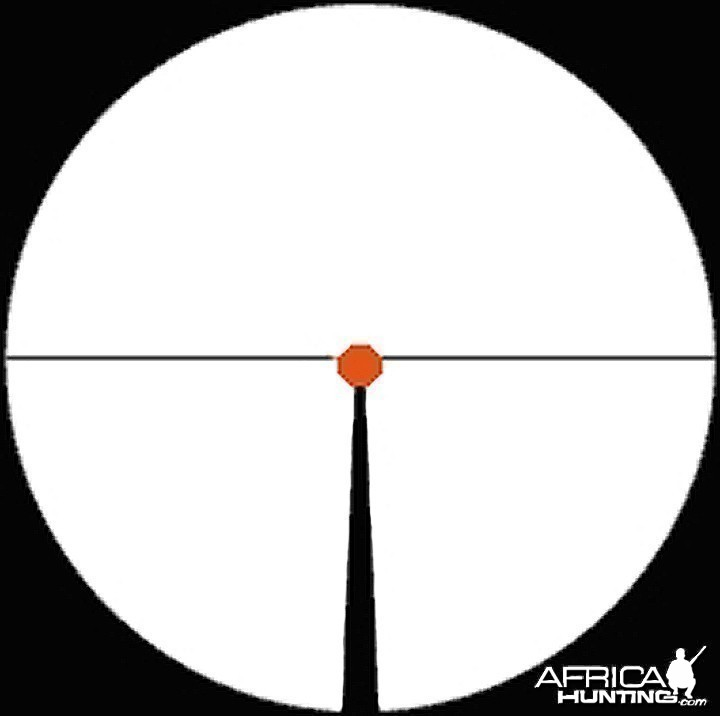 Flashdot reticle