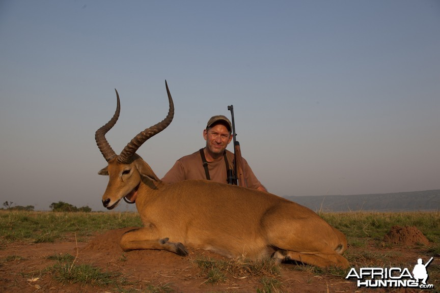 World record Kob hunted in Uganda