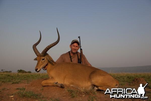 World record Kob hunted in Uganda