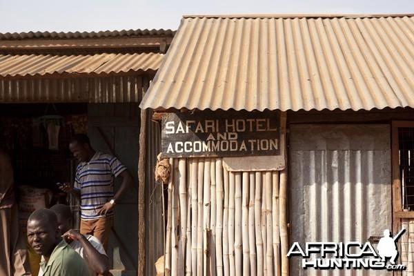Safari Hotel in Uganda