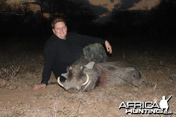 Bowhunting Warthog South Africa