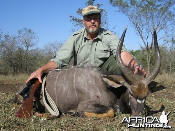 Nyala taken with Bosbok Safaris  RSA   2009