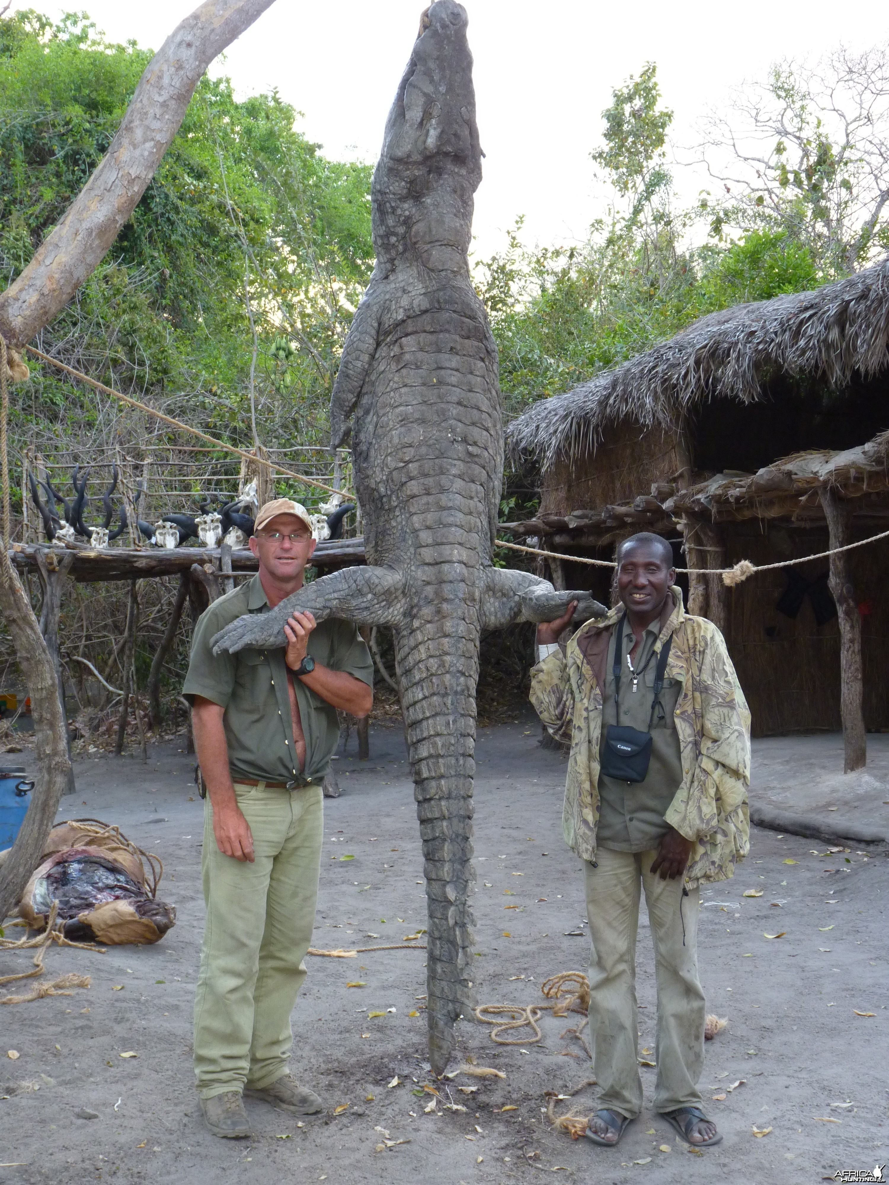 Crocodile hunting in Tanzania