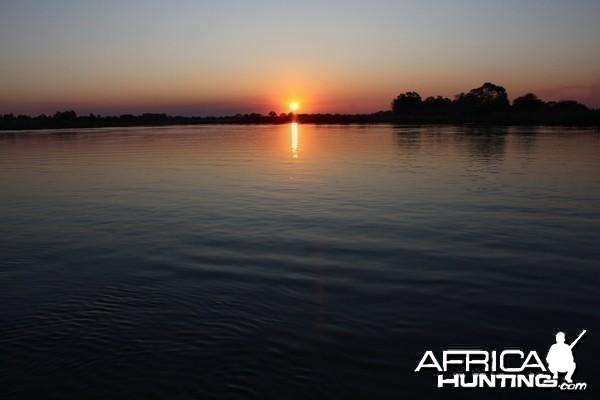 Sunset Chobe