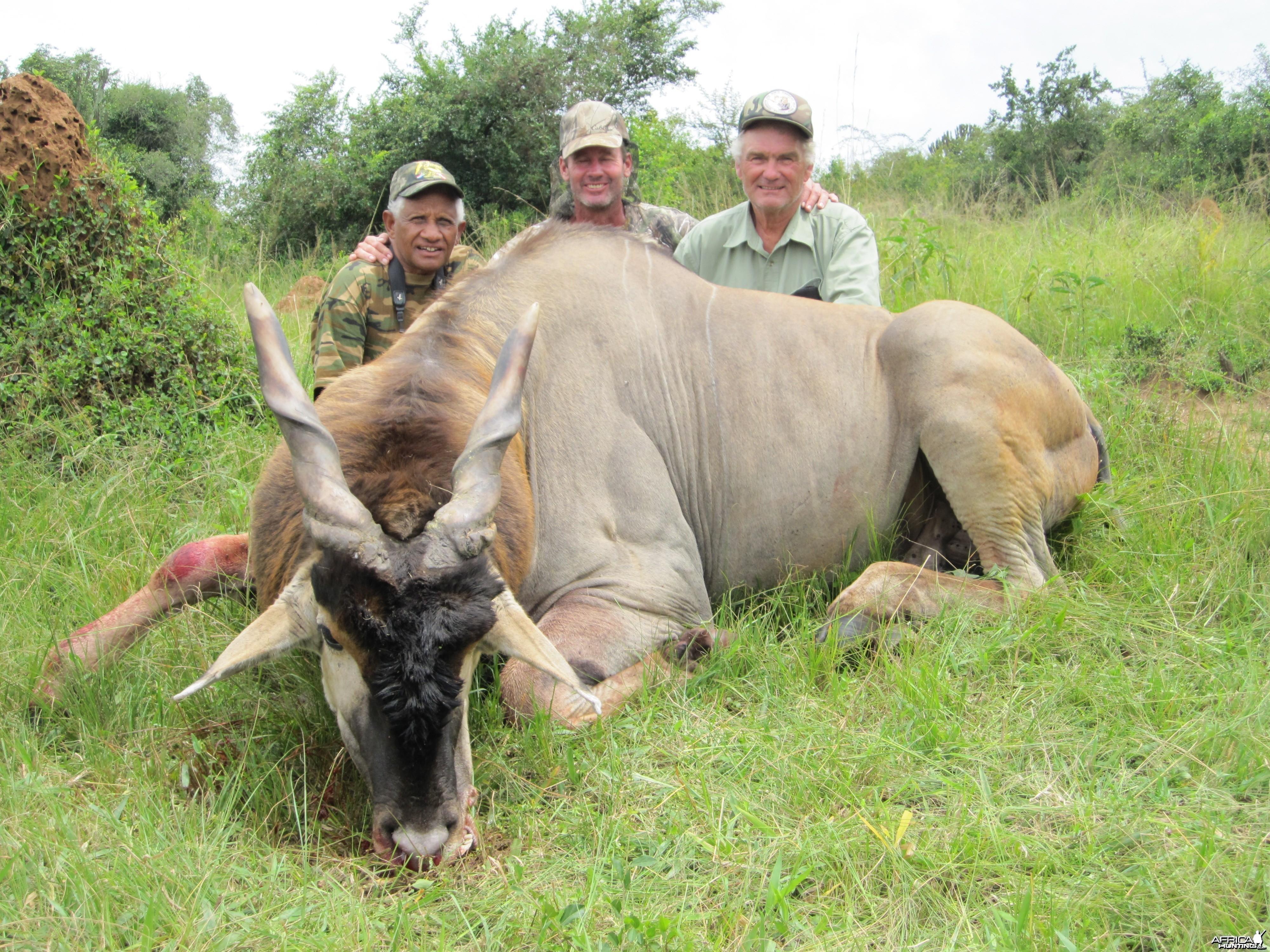 Hunting East African Eland Uganda