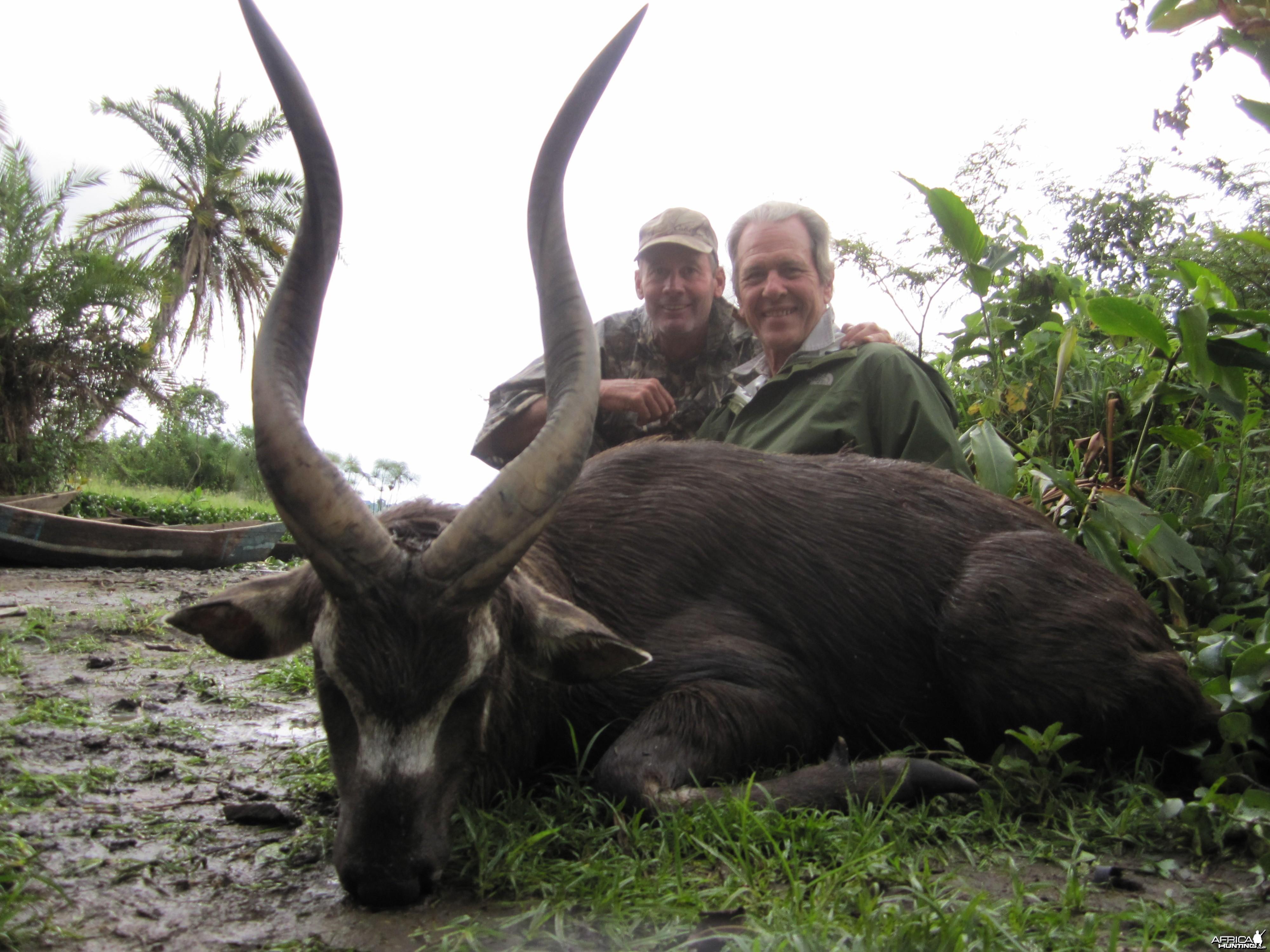 Hunting Ssese Island Sitatunga in Uganda