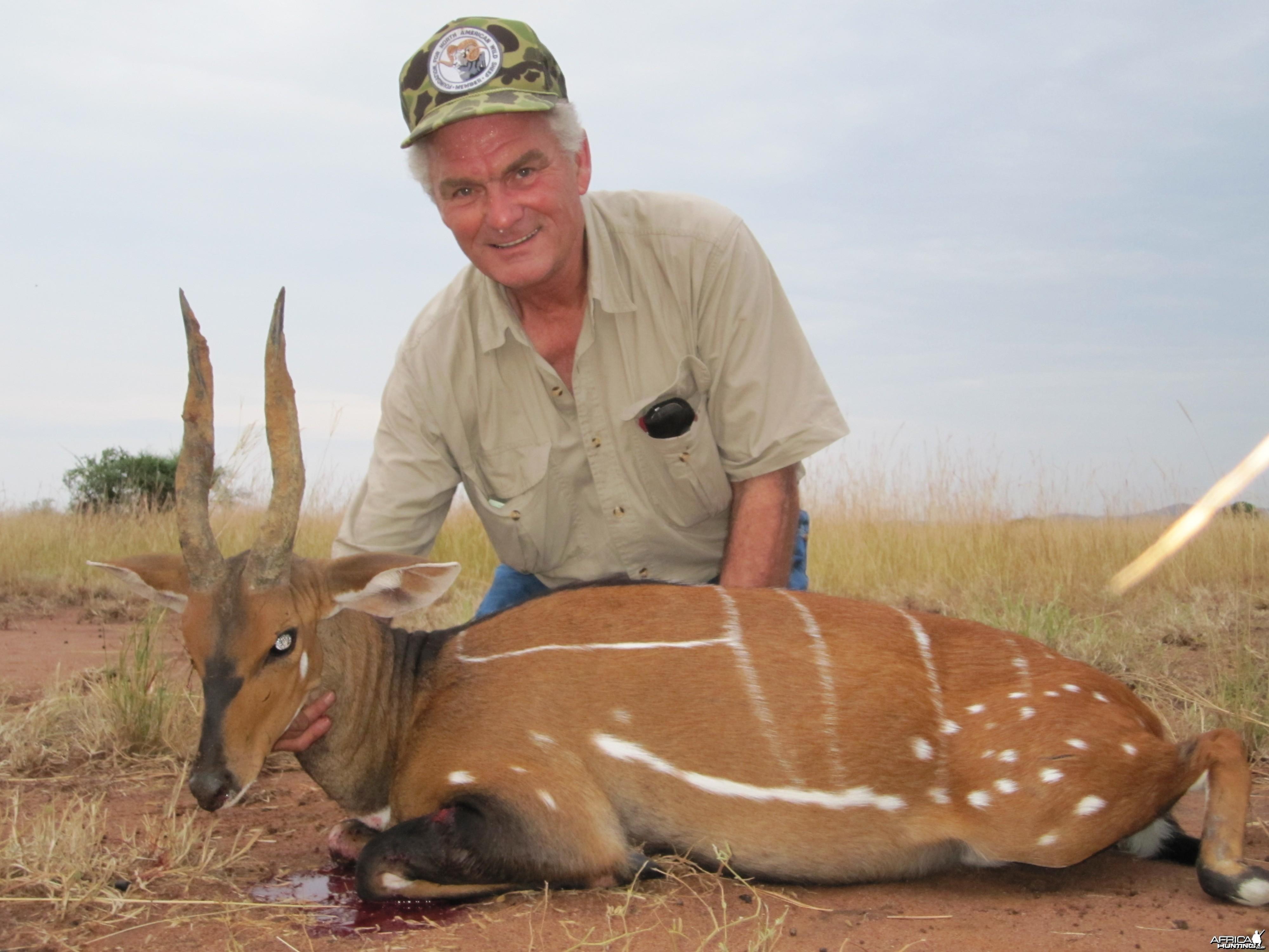 Hunting Nile Bushbuck in Uganda