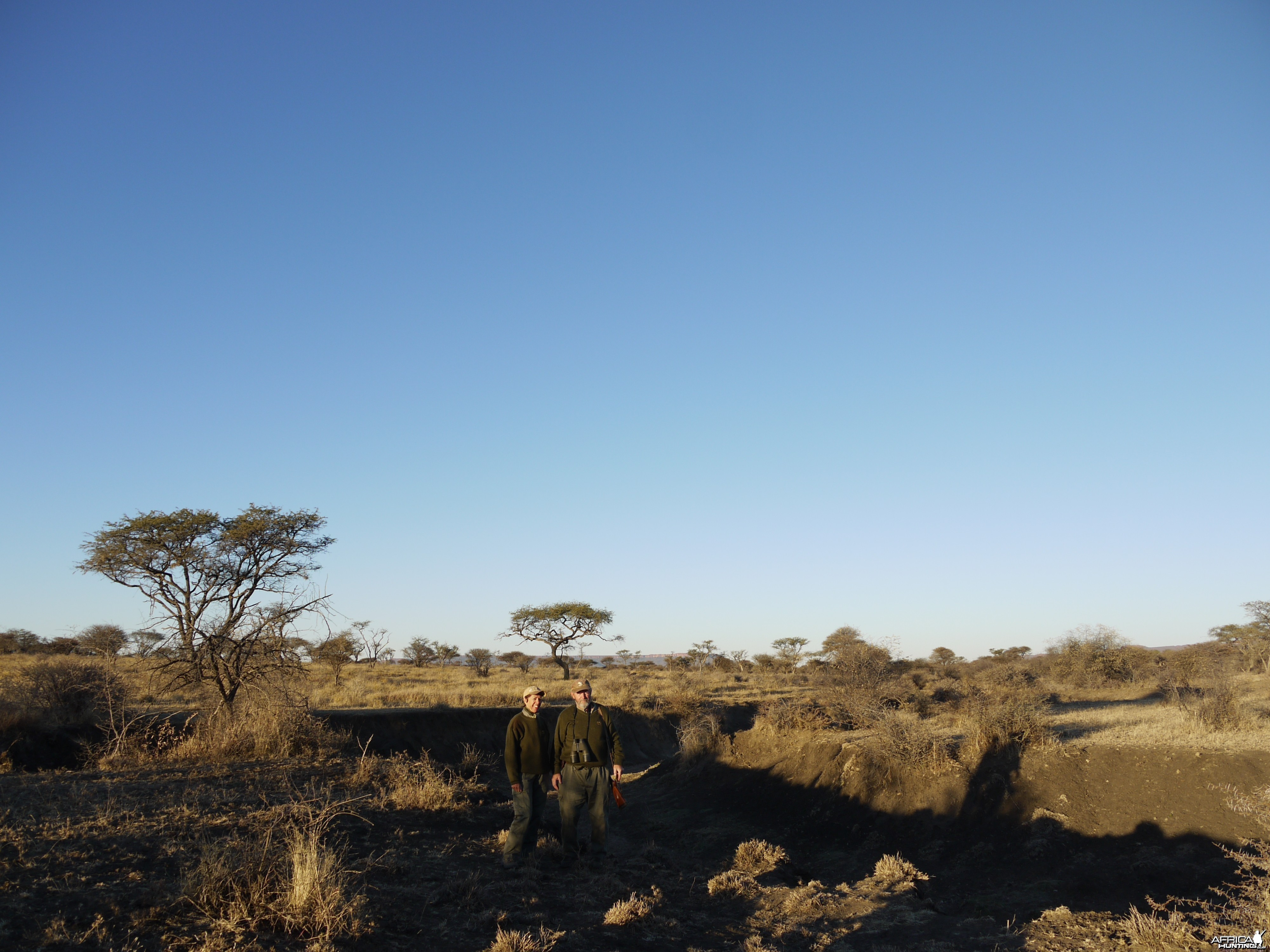 Hunting game in Namibia