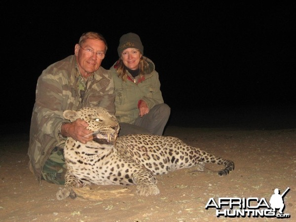 Hunting Leopard in Namibia