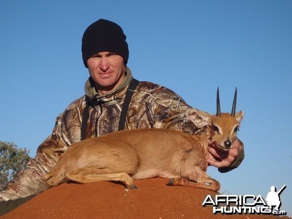 Hunting Steenbok in Namibia