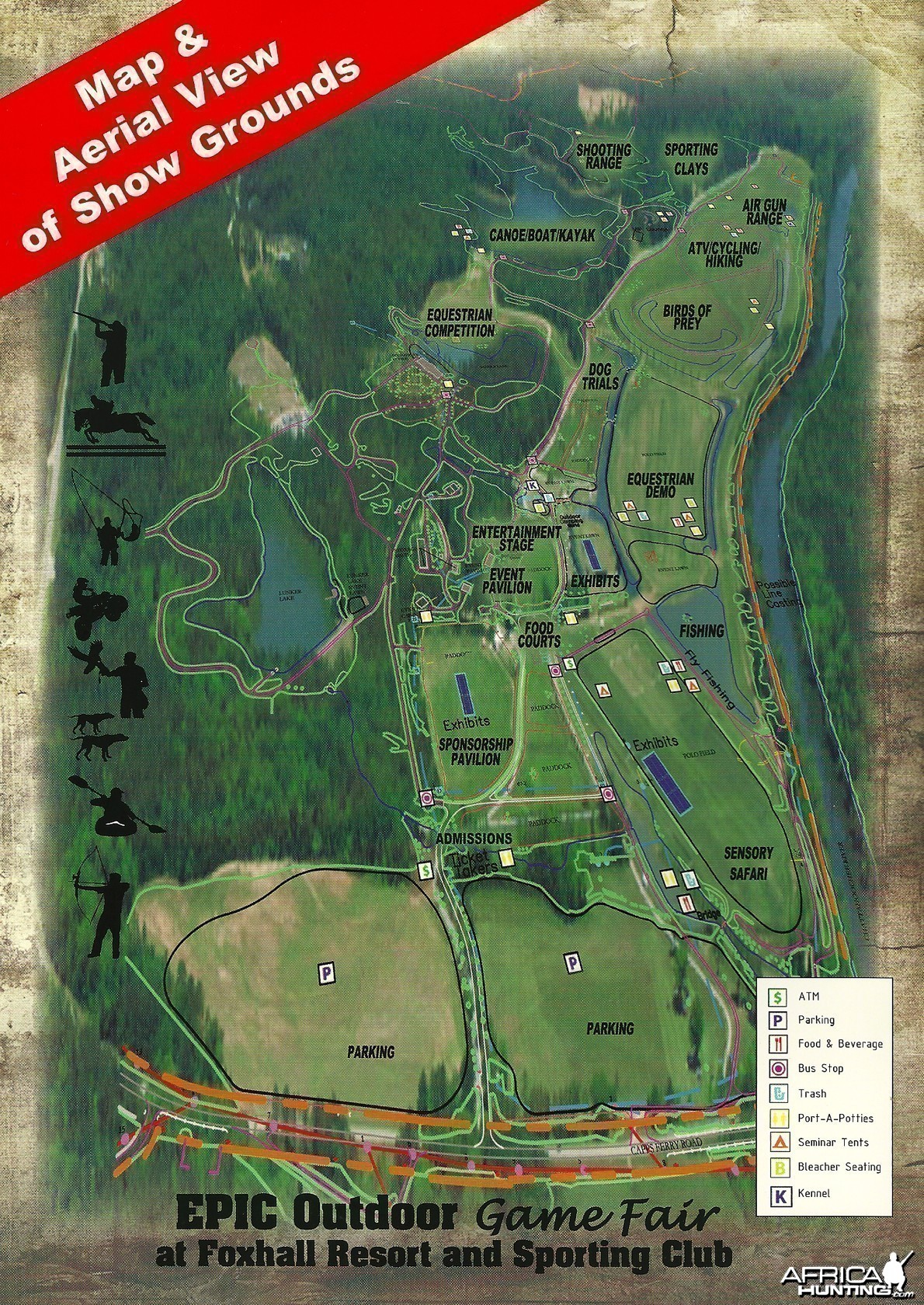 EPIC Outdoor Game Fair Map