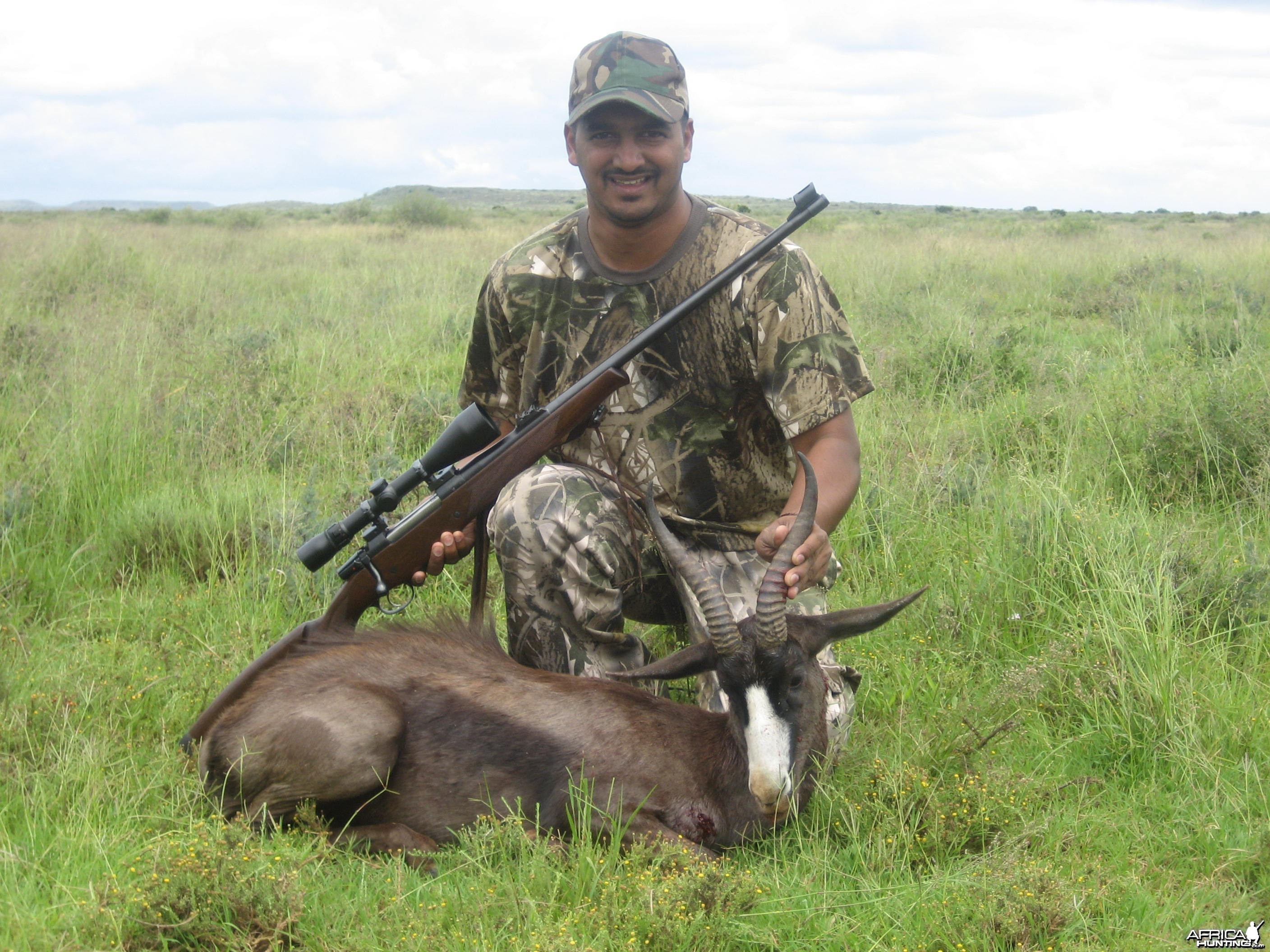Hunting Black Springbuck