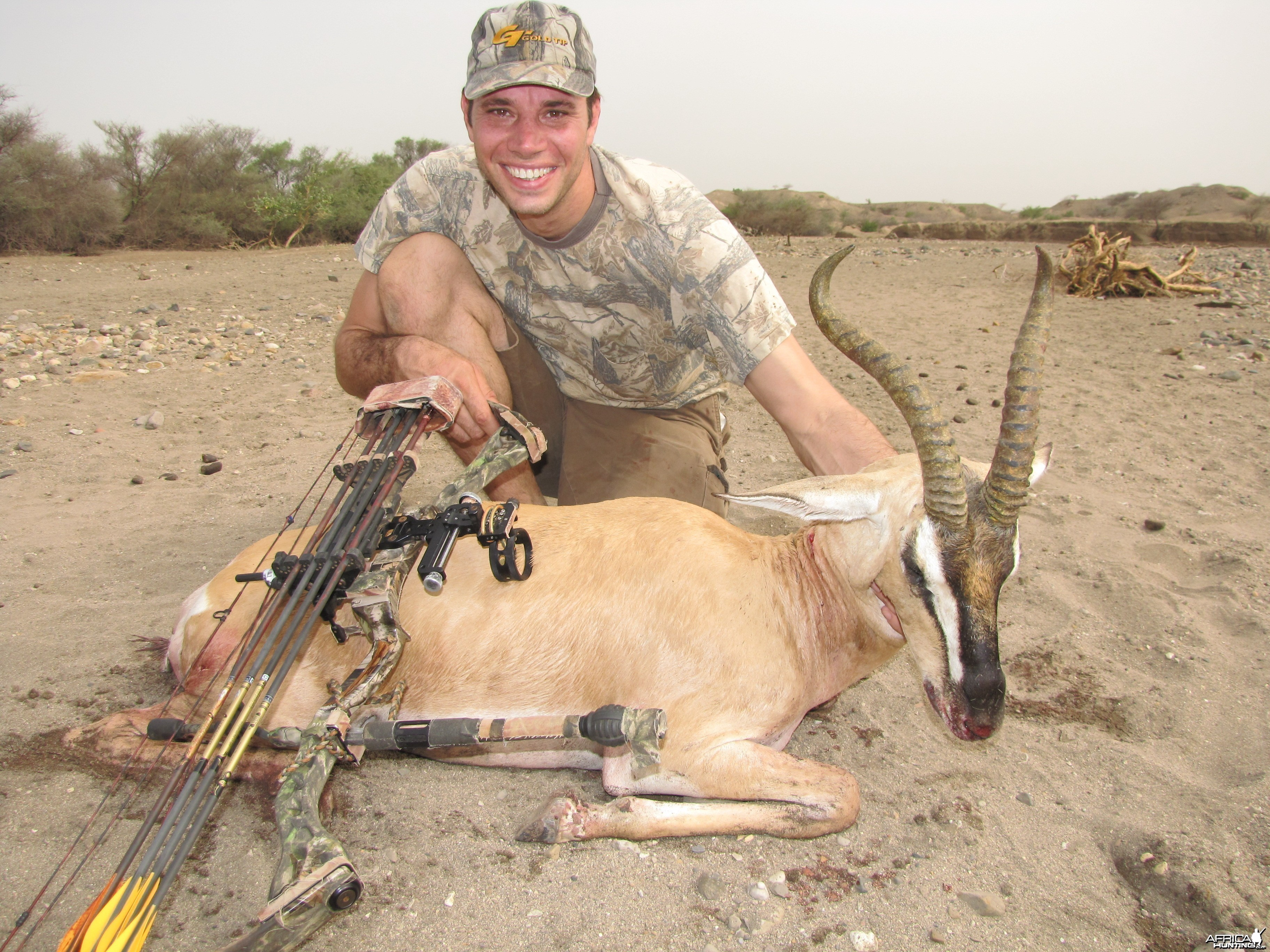 Bowhunting Soemmerring Gazelle in Ethiopia