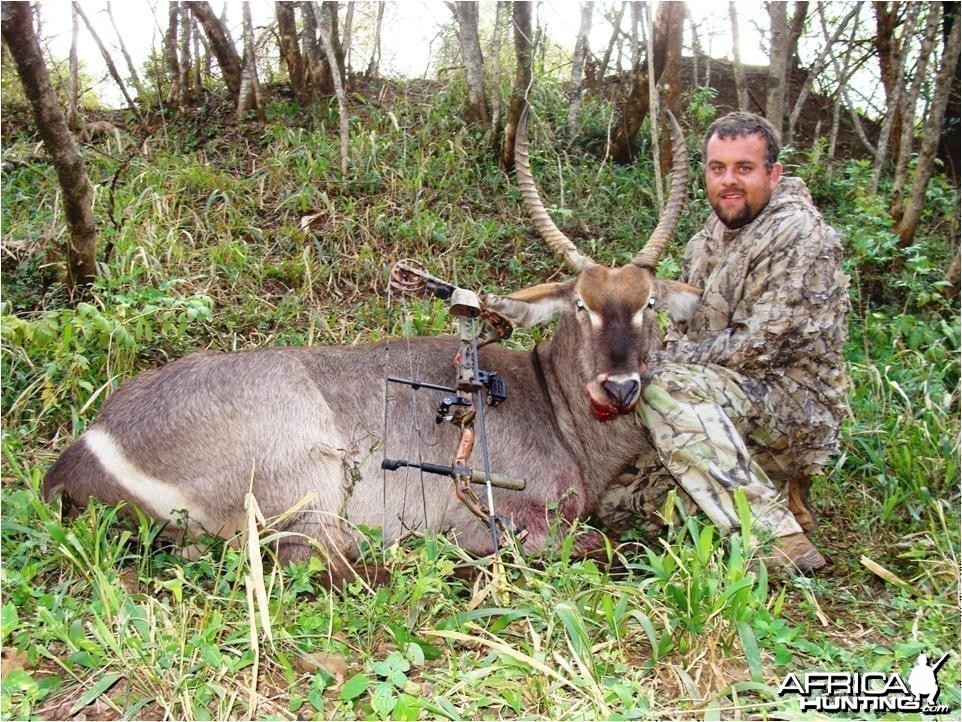 Management Waterbuck hunted with a bow