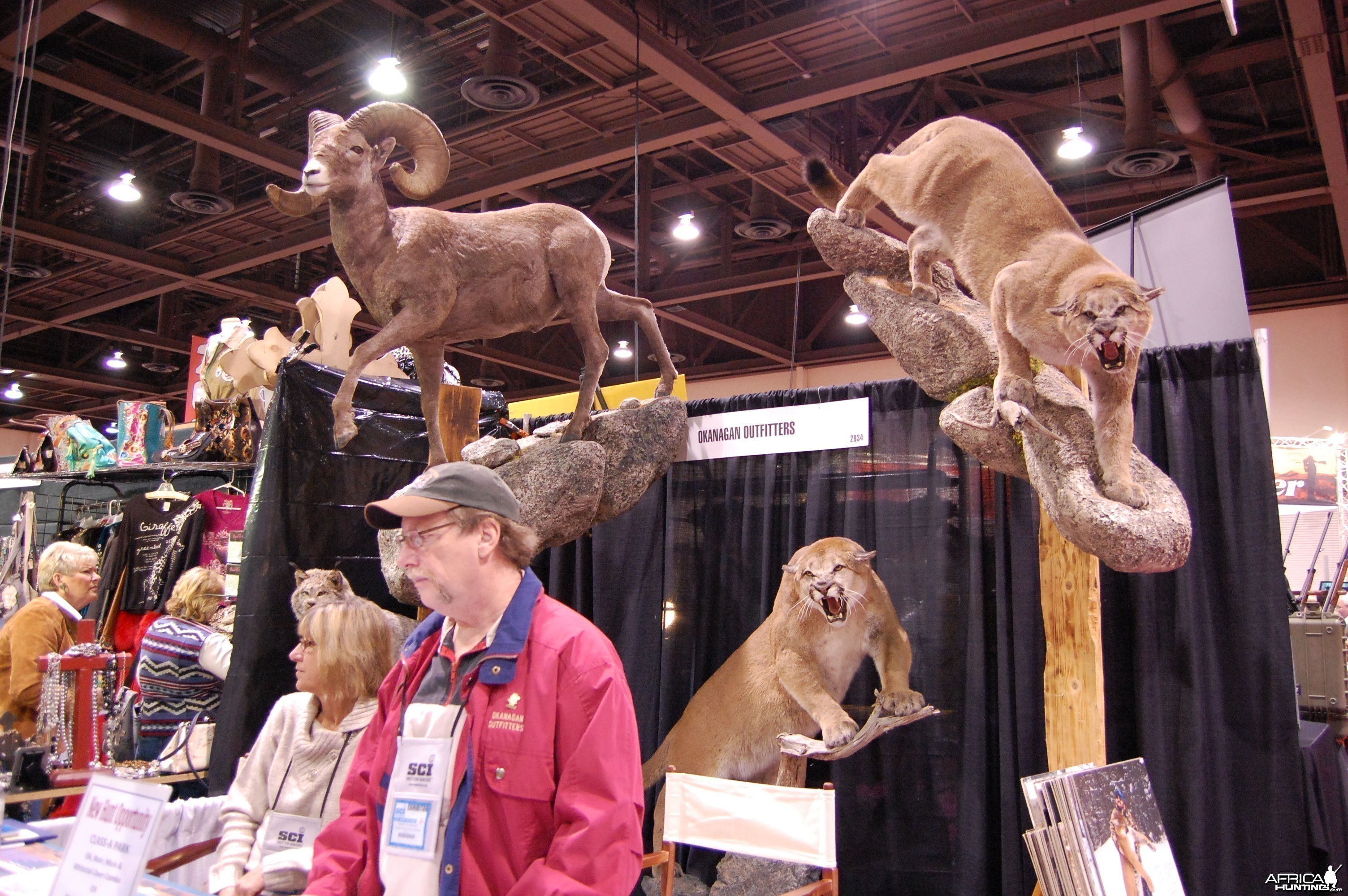 Taxidermy at Safari Club International Convention