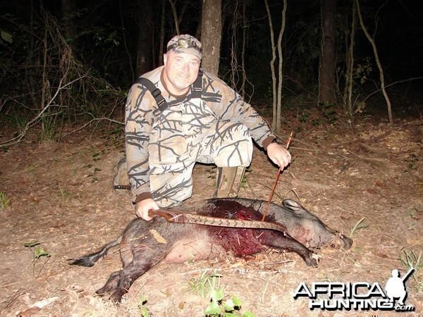 Hog Bowhunting
