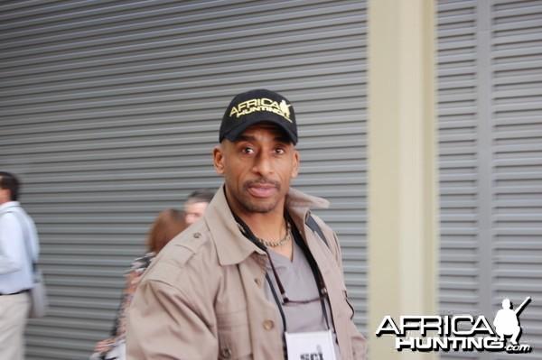 Marc Watts from Moja Media wearing AH cap