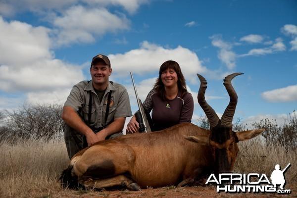Hunting Hartebeest