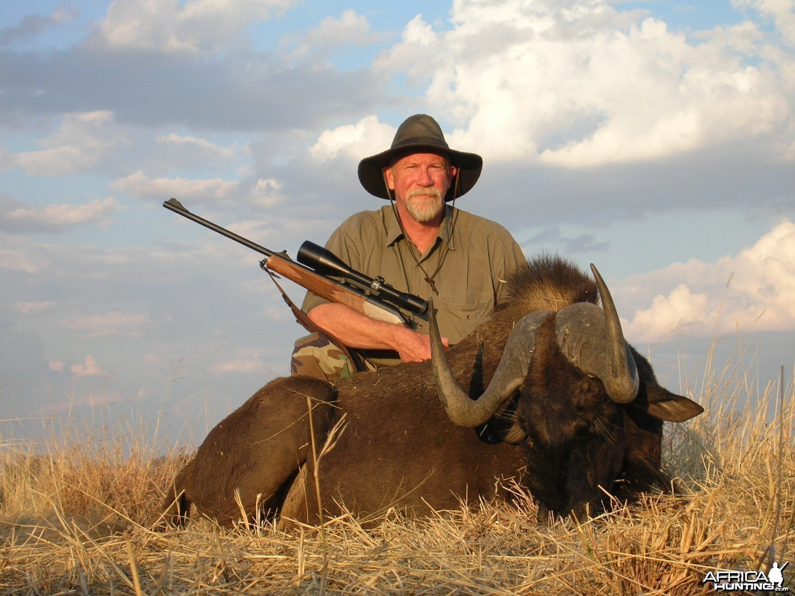 Black Wildebeest Hunting in Namibia