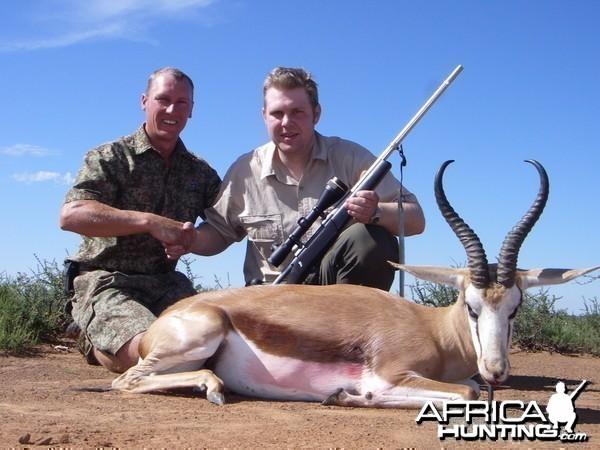 Springbok taken in South Africa