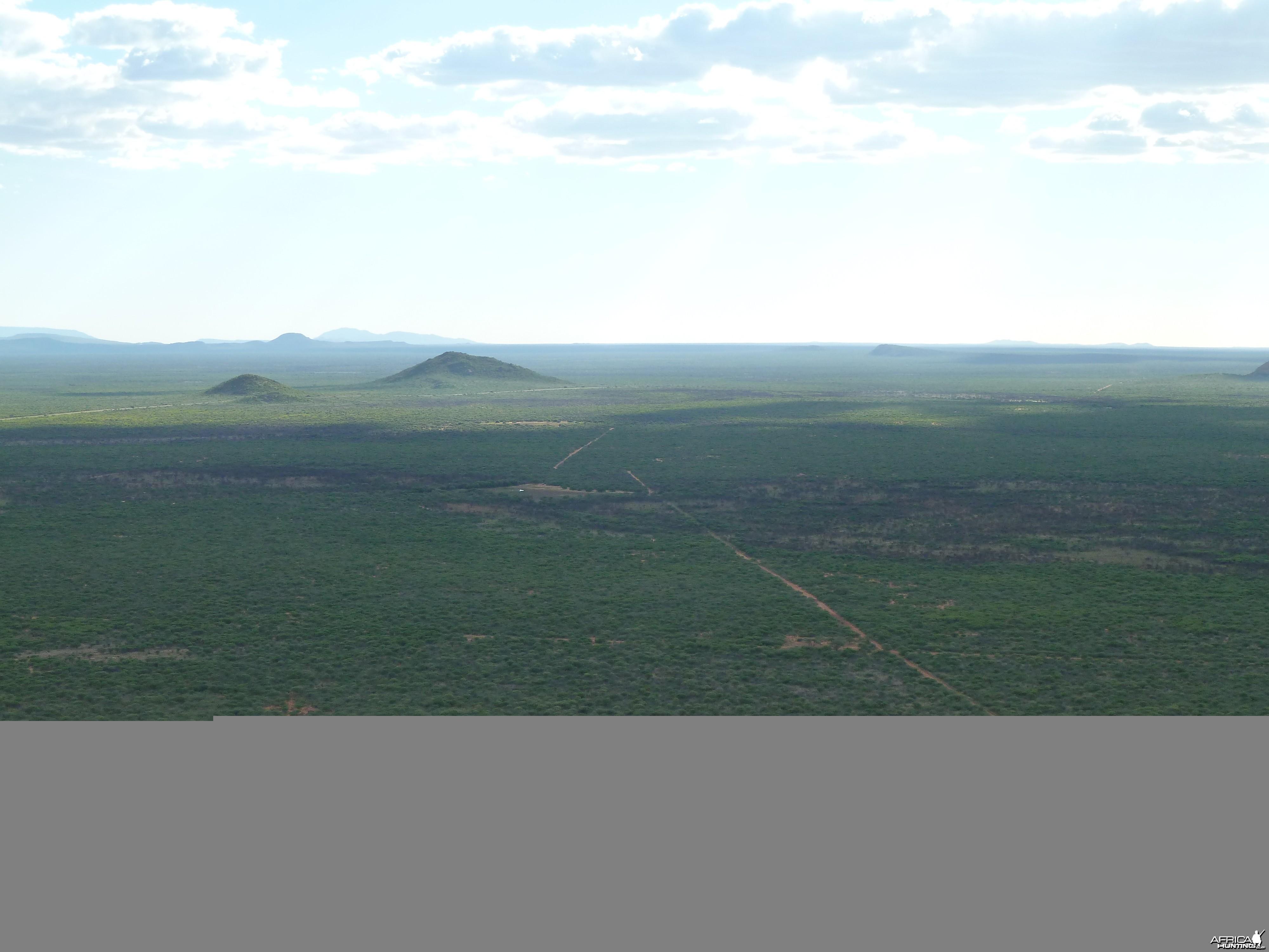 Hunting Ozondjahe in Namibia