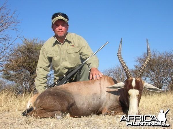 Blesbok Hunting in Namibia