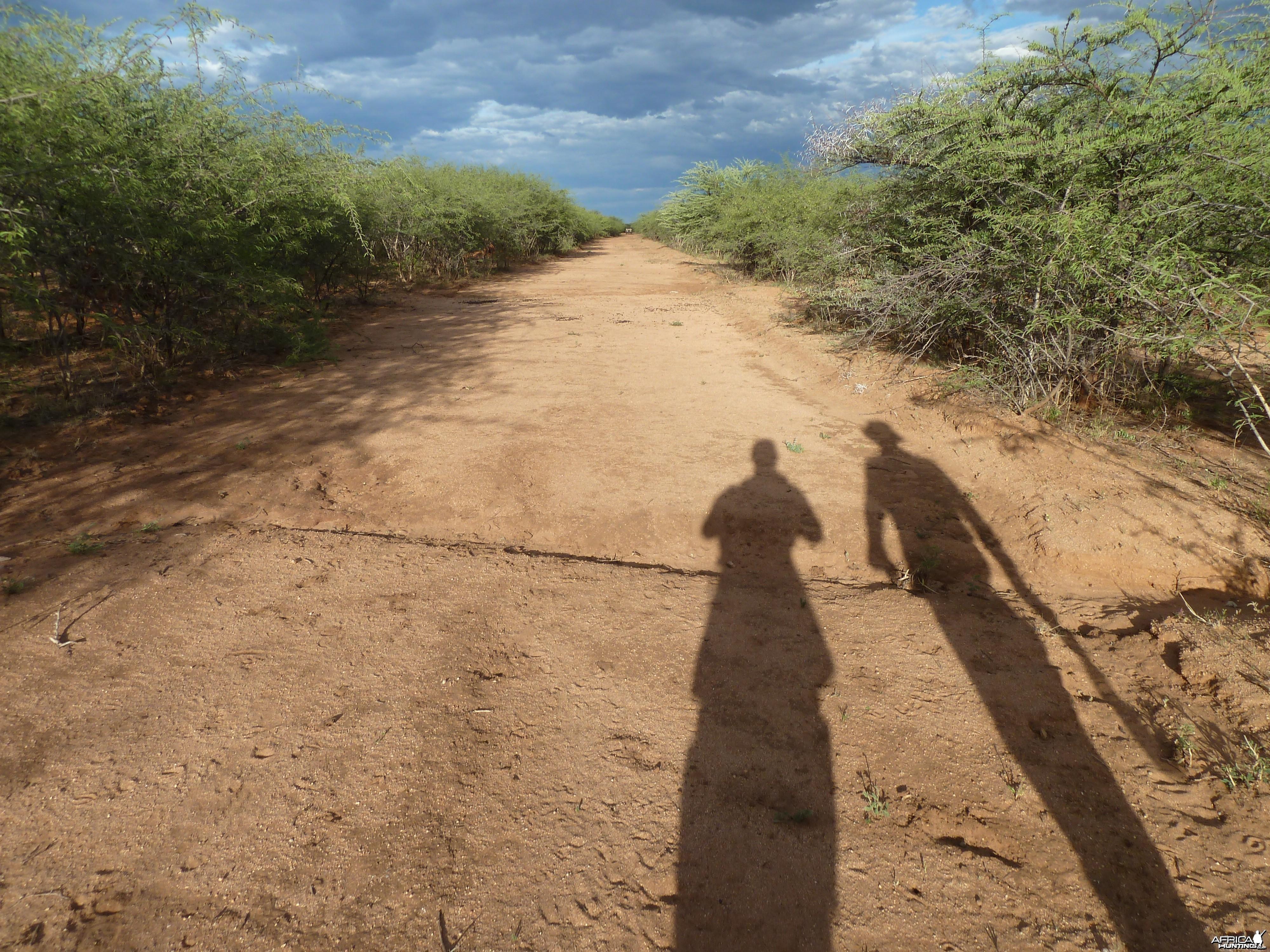 Hunting at Ozondjahe in Namibia