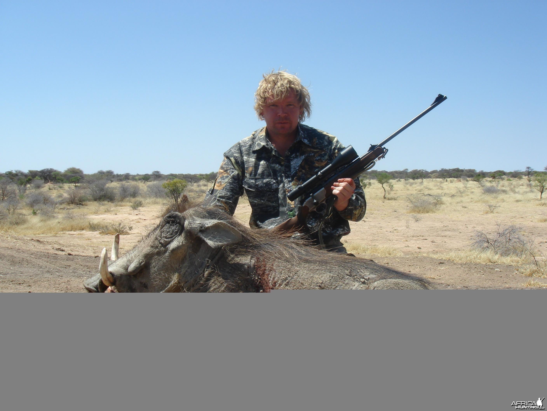 Hunting Warhtog
