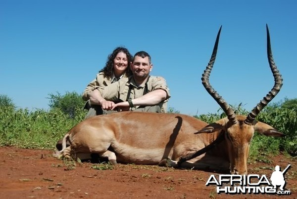 Hunting Impala in Limpopo South Africa
