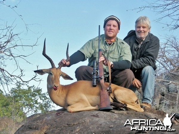 Impala Hunt at Savuli Ranch, The Save, Zimbabwe