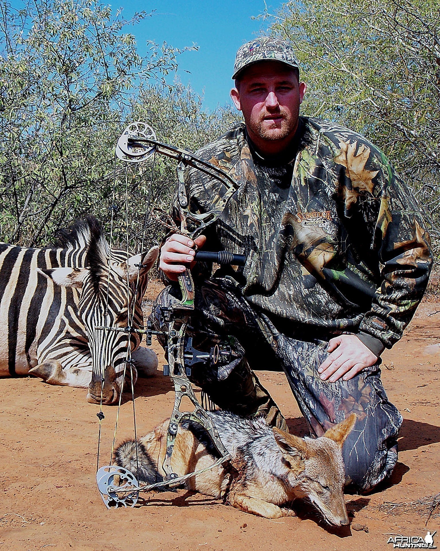 Bowhunting Jackal South Africa