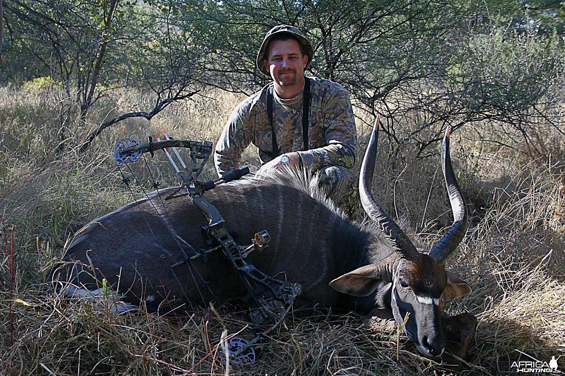Bowhunting Nyala South Africa