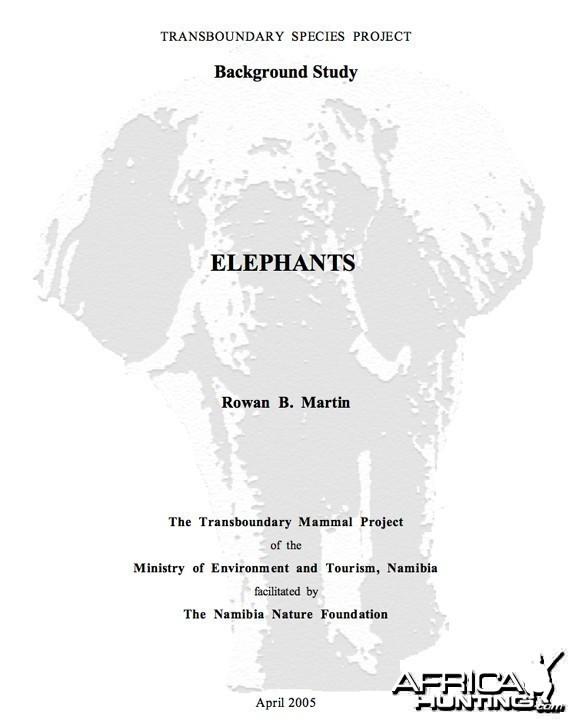 Elephant Report
