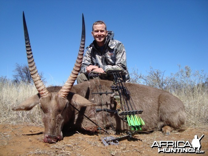 Bowhunting Waterbuck