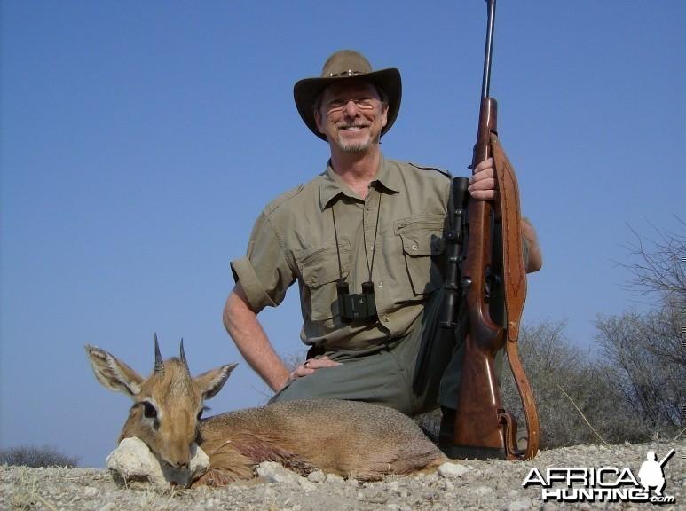 Hunting Damara Dik-Dik