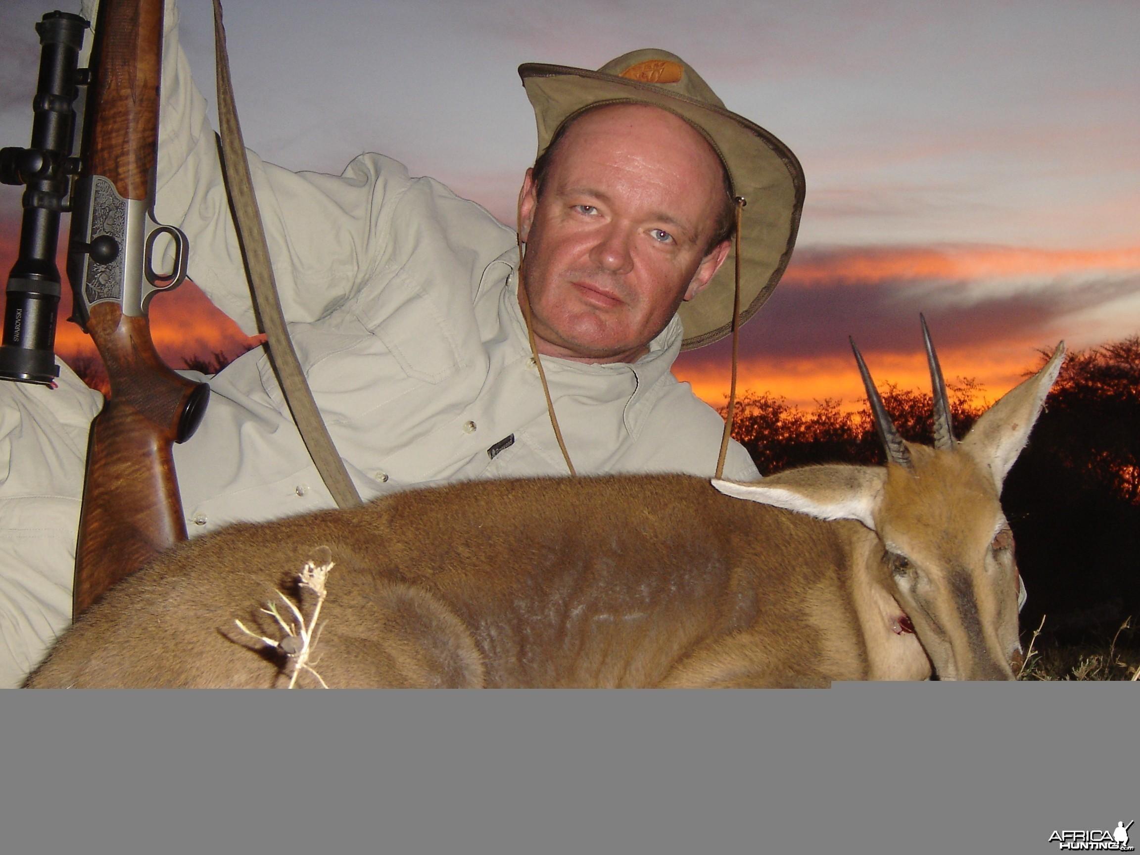Hunting Duiker