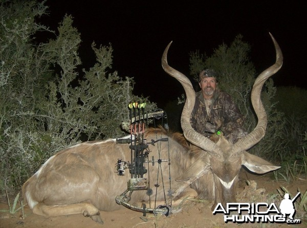 Bowhunting Cape Kudu