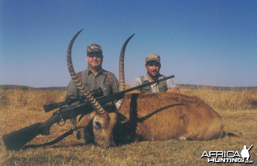 Hunting Lechwe