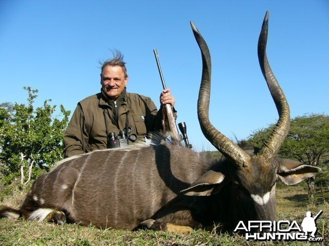 Hunting Nyala