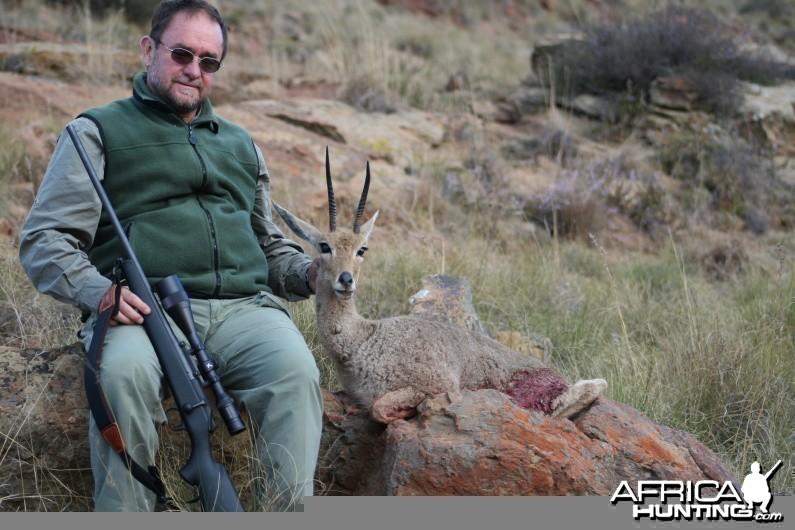 Hunting Vaal Reedbuck