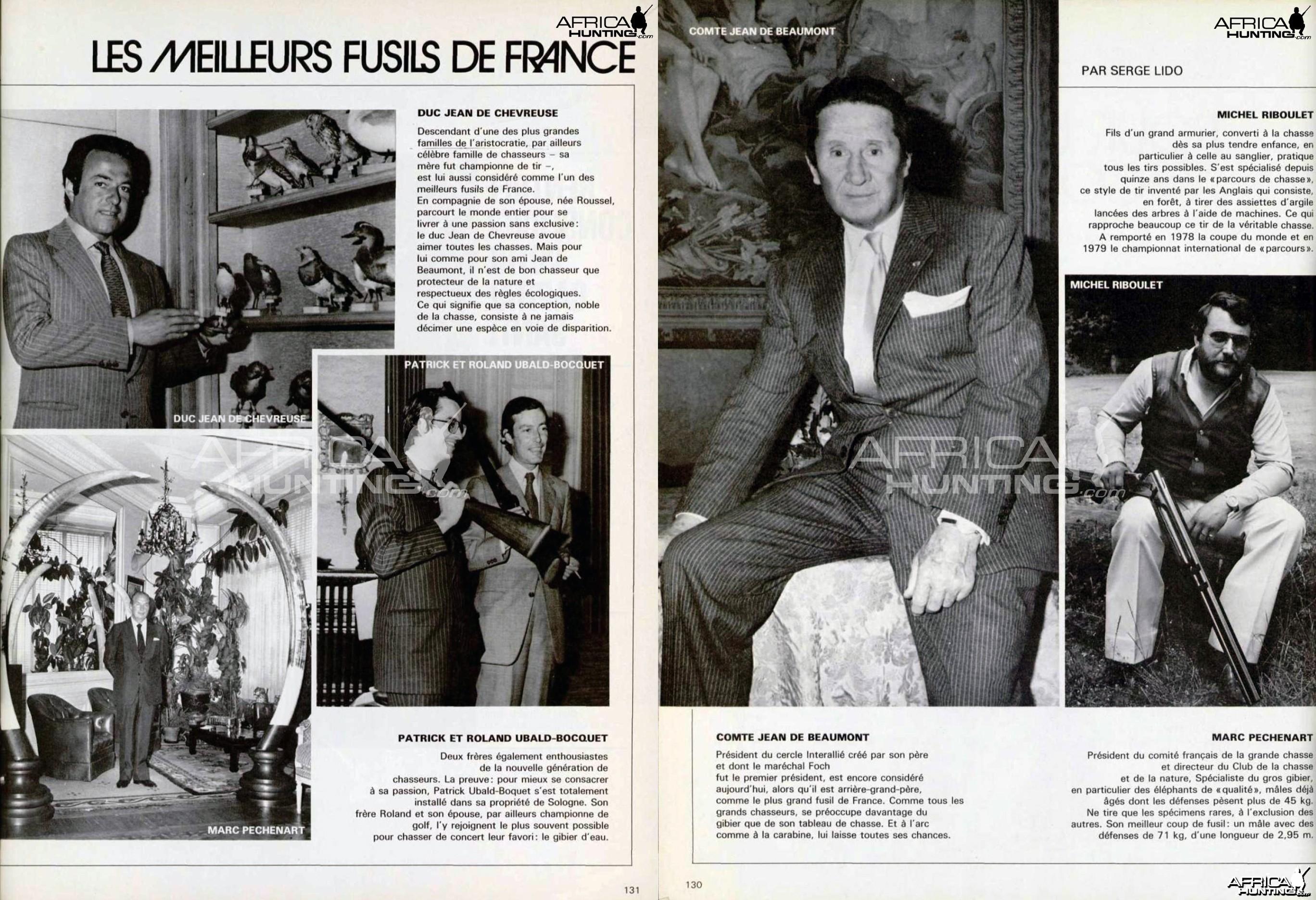 Les meilleurs fusils de France