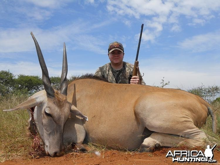 Eland hunt in South Africa with HartzView Hunting Safaris