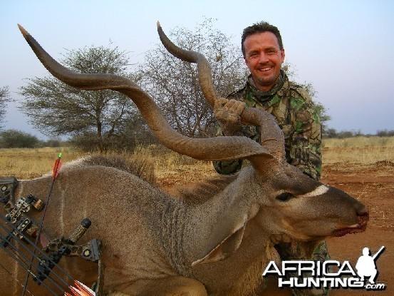 Bowhunting Kudu Namibia